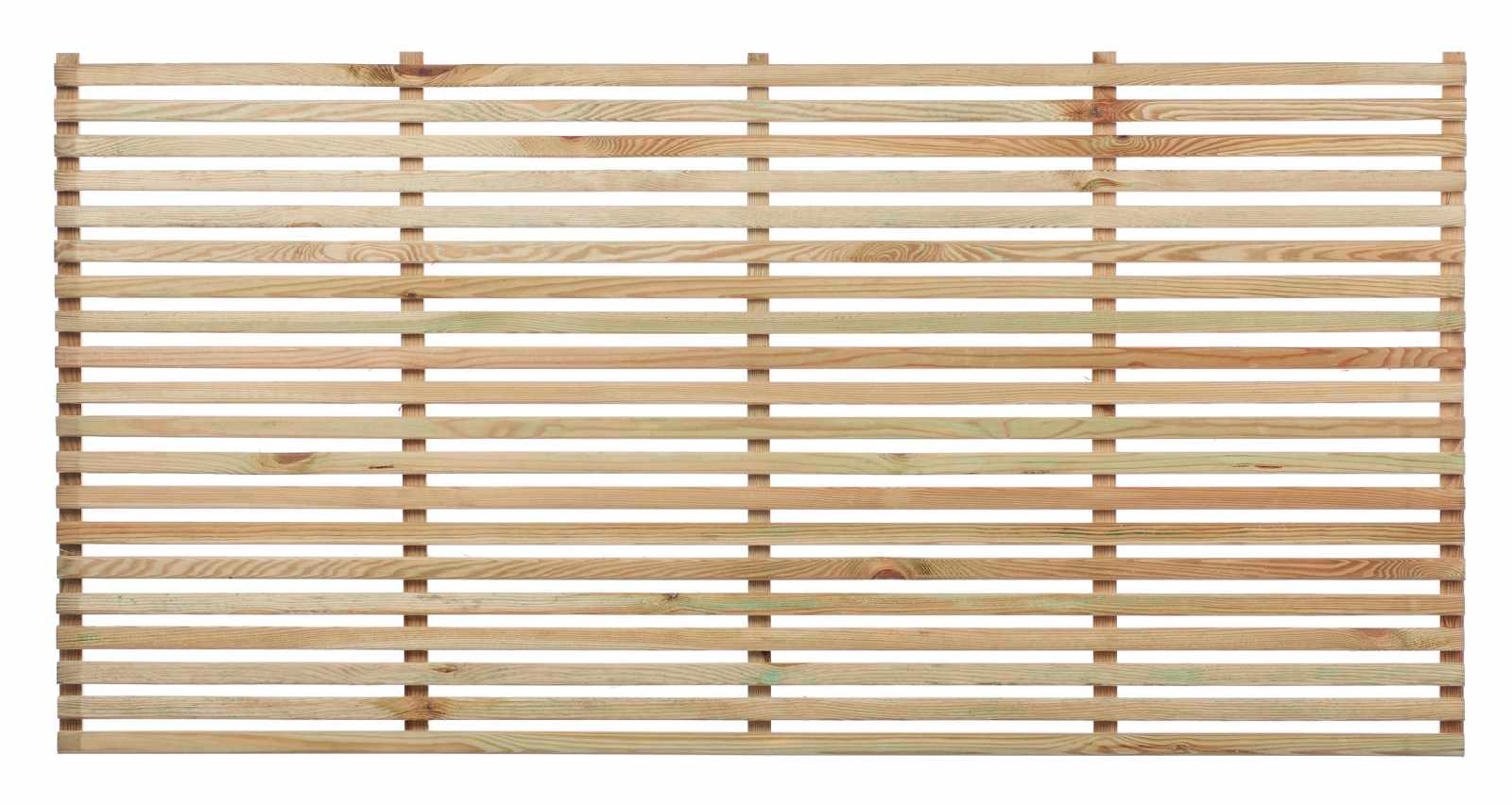 Slatted Fence Panel | The Garden Trellis Company