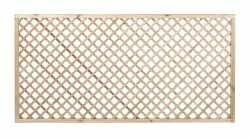 Diagonal Trellis Panel