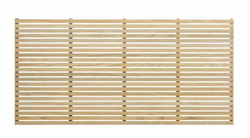 Radiata Pine Slatted Panel (30mm Slat) Natural / Unpainted