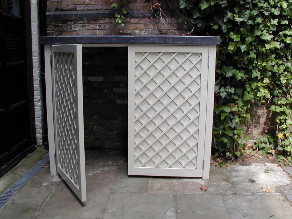 Contemporary garden bin amp recycling stores essex uk the garden