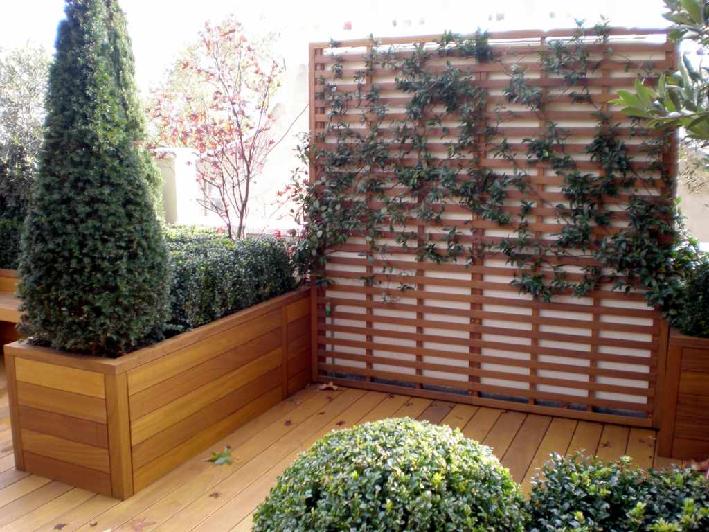 Wooden Garden Planter Boxes Contemporary And Traditional