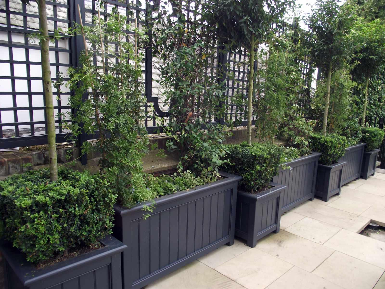 Wooden Garden Planters Amp Obelisks Amp Towers Essex Uk The