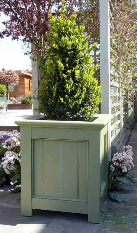 Wooden Garden Planter Boxes Contemporary And Traditional