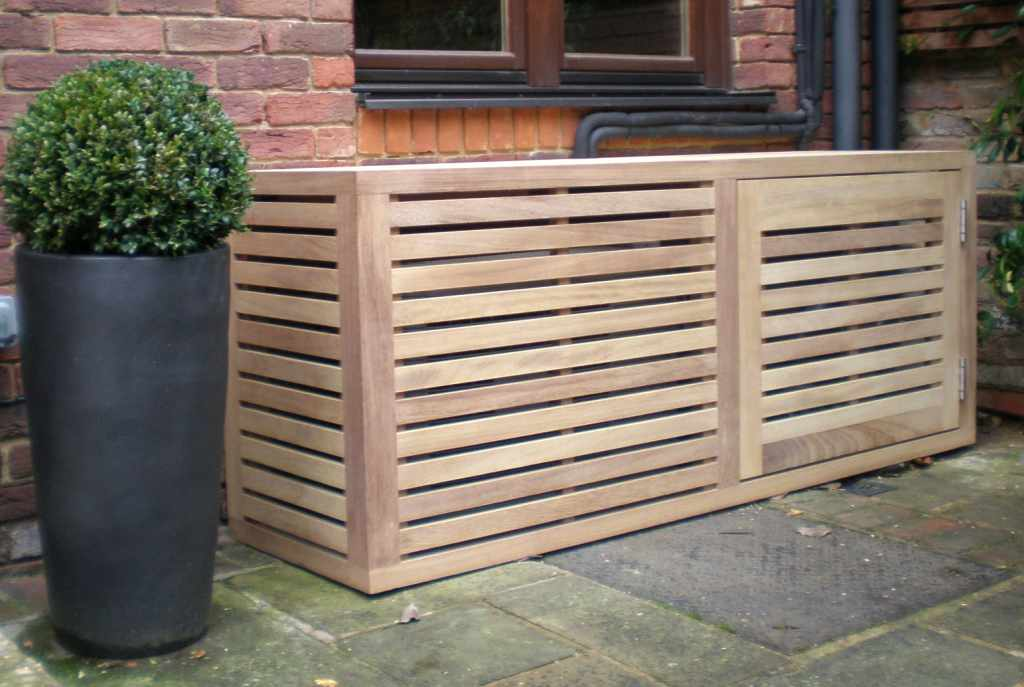 Air conditioning covers essex uk the garden trellis for Air conditioning unit covers outside
