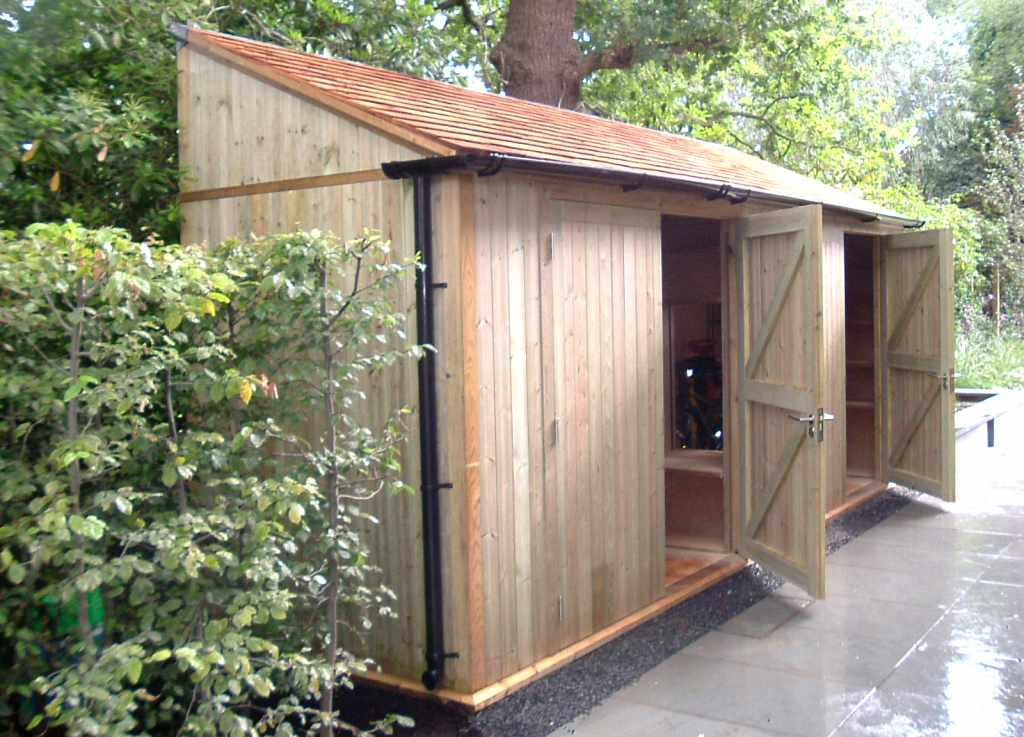 Contemporary garden stores covers essex uk the for Garden storage solutions