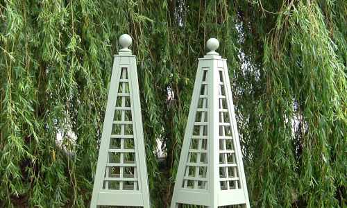 Wooden Garden Obelisk Garden Towers Trellis Essex UK The