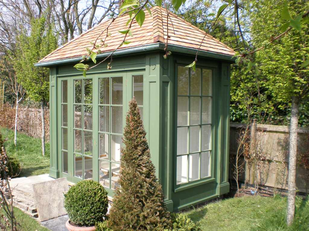 Wooden garden rooms and sheds essex uk the garden for Outdoor structures
