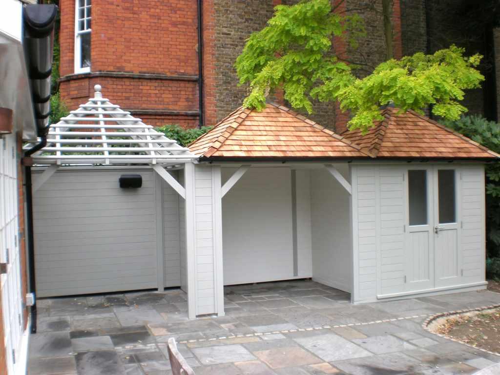 ^ ontemporary, Wooden Garden ooms & Sheds - ssex UK, he Garden ...