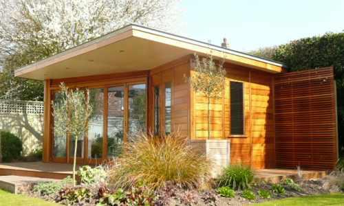 Wooden garden rooms and sheds essex uk the garden for Pre built garden rooms