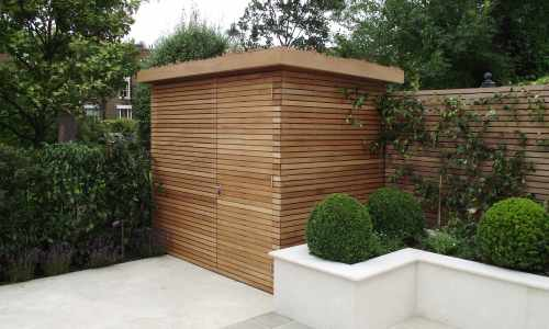 Wooden garden rooms and sheds essex uk the garden for Modern garden shed designs