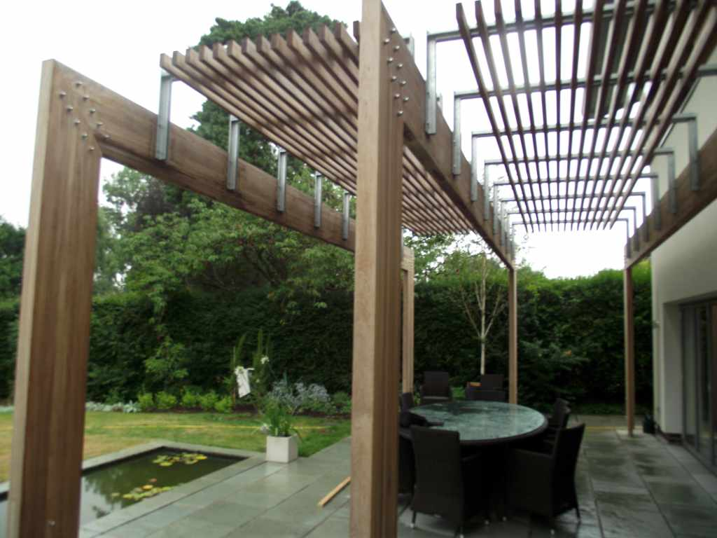Contemporary Wooden Garden Pergolas & Gazebos Es UK The Garden Trellis pany