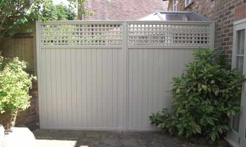 decorative fence panels essex uk the garden trellis. Black Bedroom Furniture Sets. Home Design Ideas