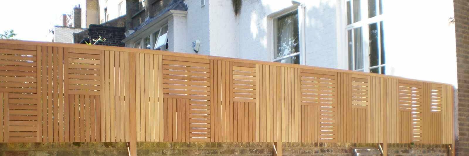 Cedar Fence Panels   Natural Slatted Fence Panels   Essex UK