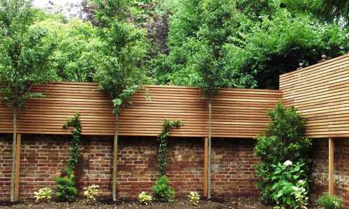 Contemporary Natural Slatted Panels Essex Uk The