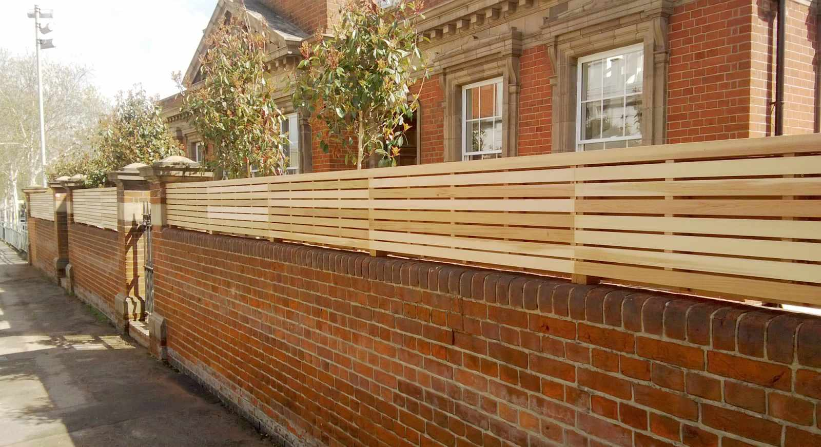 Cedar Fence Panels Natural Slatted Fence Panels Essex