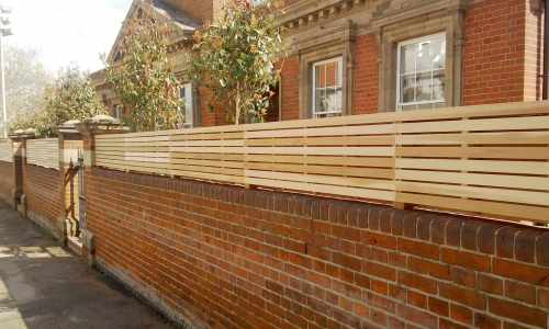 Contemporary Natural Slatted Panels   Essex UK   The ...