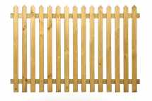 Pointed Top Picket Fencing