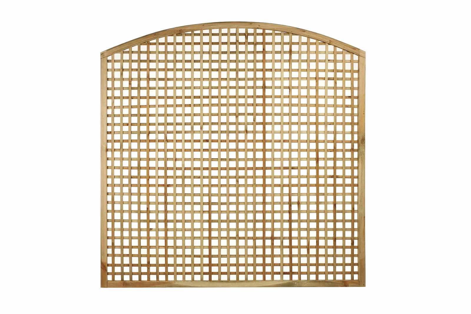 Square Convex Top Trellis Panel Painted Options Garden