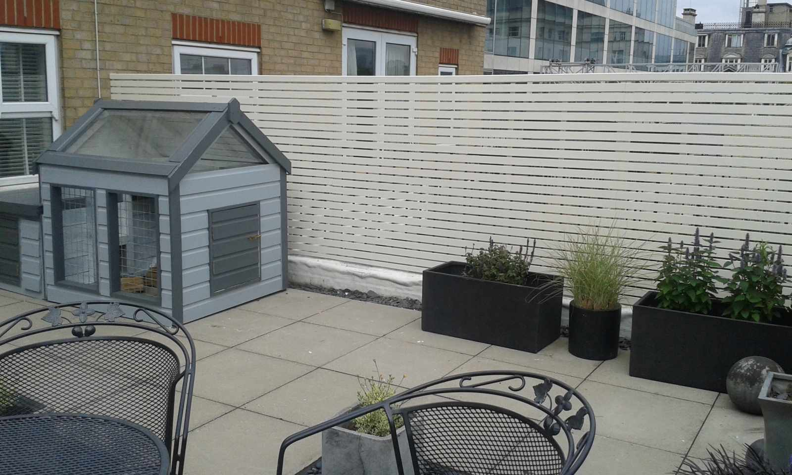 Bespoke Contemporary Roof Terrace