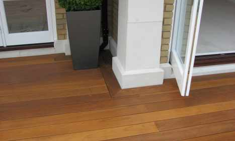 Attention To Detail On Decking - After