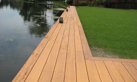 River Edge Decking - After