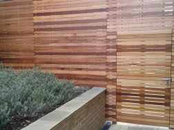 Bespoke Double Sided Frameless Fencing