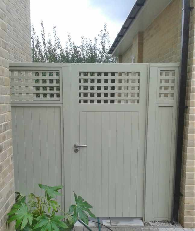 Bespoke Wooden Garden Gates Essex Uk The Garden