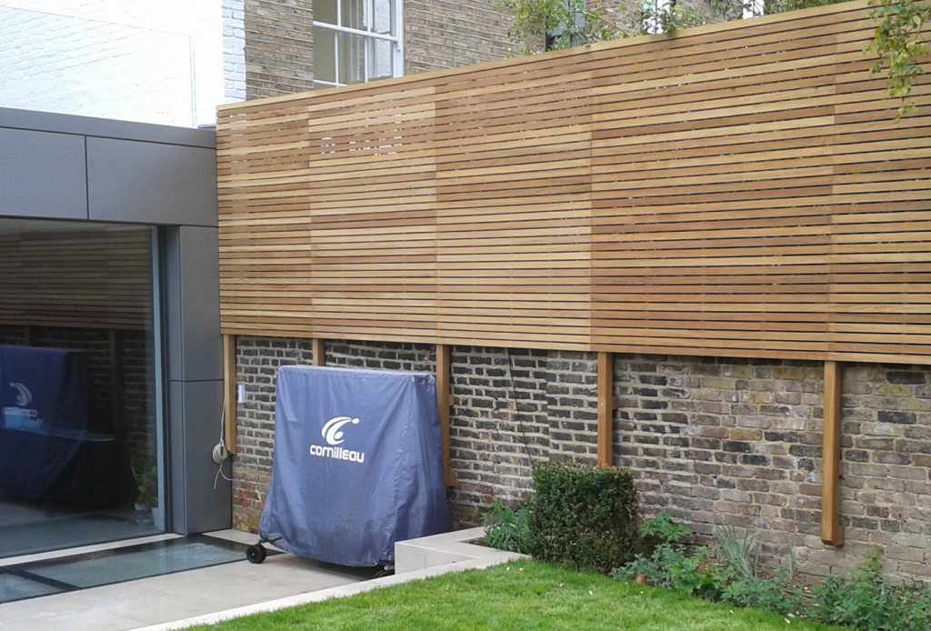 how to cut a fence panel down to size