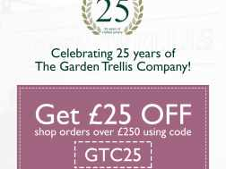 Get £25 off to celebrate our 25th anniversary!