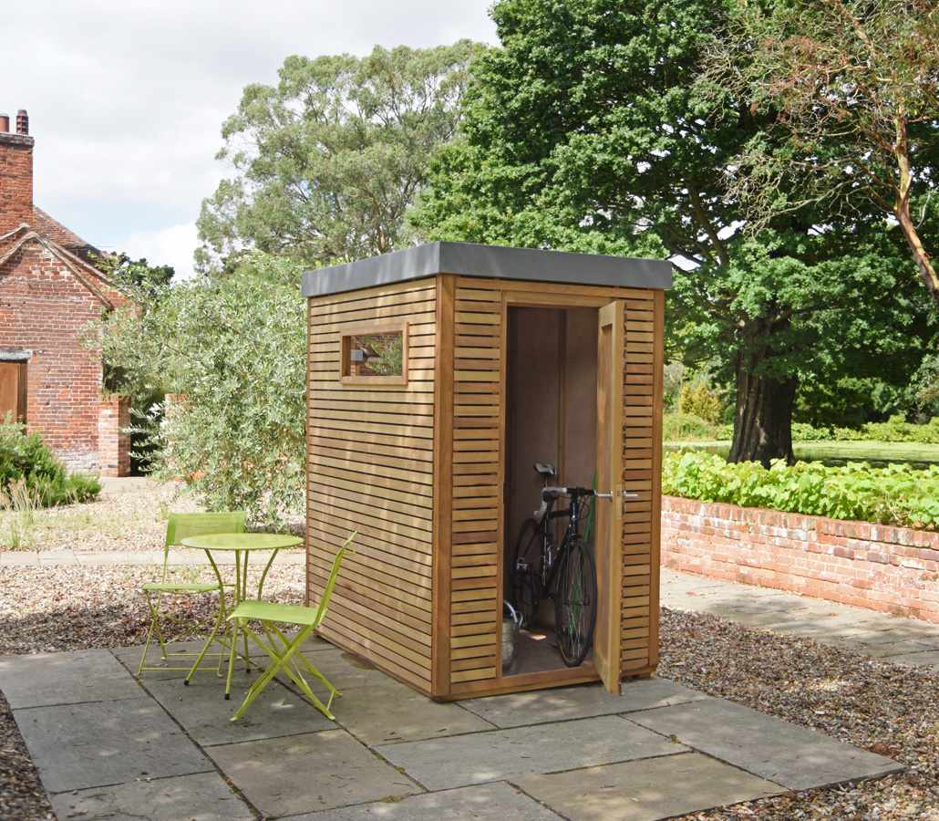 Contemporary Shed Handmade In The Uk The Garden Trellis
