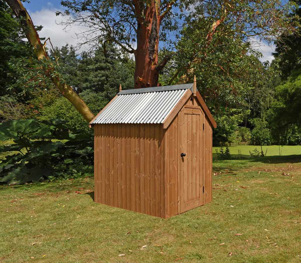 Traditional Garden Shed Handmade By The Garden Trellis