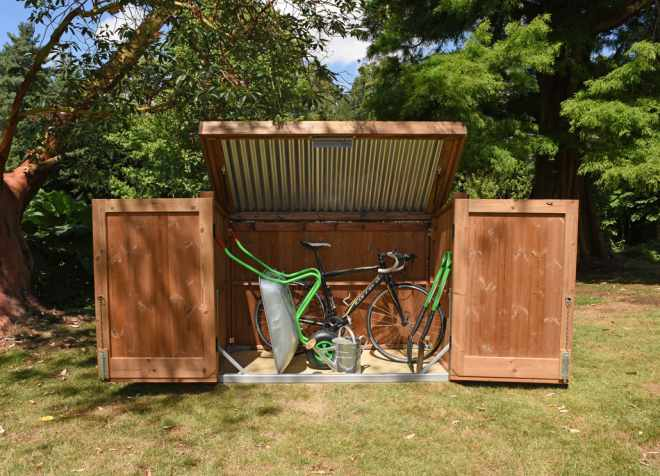 Wooden Bike Sheds The Garden Trellis Company