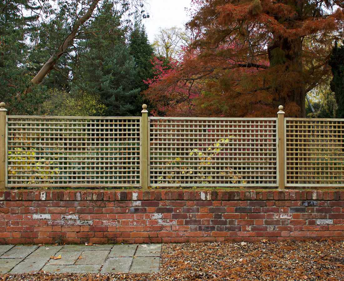 square trellis panel 40mm gap paint options the garden