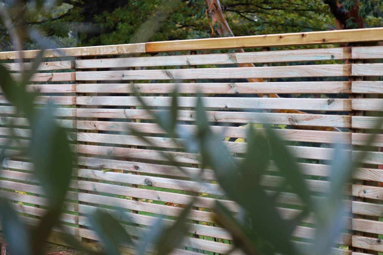 Slatted Fence Panel The Garden Trellis Company