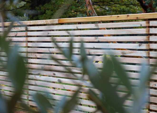Preferred Slatted Fence Panels | Privacy & Security | The Garden Trellis Company QC62