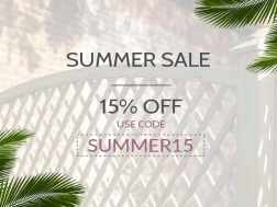 The temperature is up but our prices are down - shop summer sale