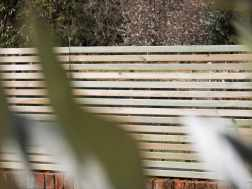 Add privacy and style to your garden with our slatted panels