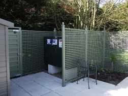 Create Secluded Areas with Wooden Garden Screening