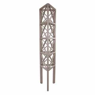 Prestige Triangular Wooden Tower Obelisk (Autumn Tide)