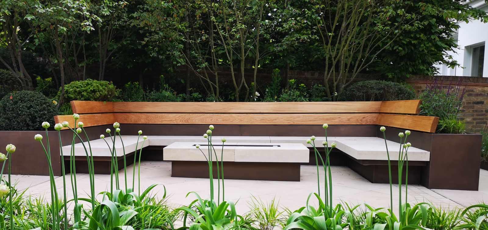 Outstanding Contemporary Wooden Garden Features Essex Uk The Garden Beatyapartments Chair Design Images Beatyapartmentscom