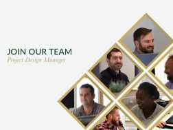 Join our team - Project Design Manager