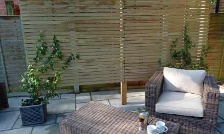 RHS Prestige Wide Slatted Panels - Natural Radiata Pine softwood