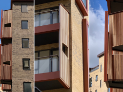 Case Study: Custom Solid Panels for Apartment Balconies